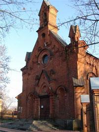 Храм Вселенской Церкви латинского обряда в Сумах есть.  Вот он.