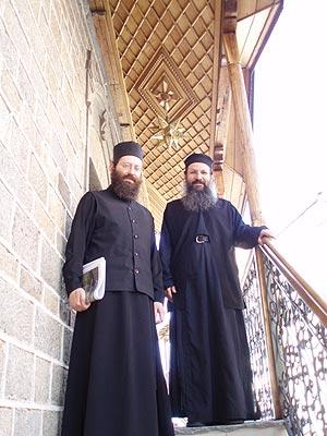 архимандрит Йов Геча на Афоні