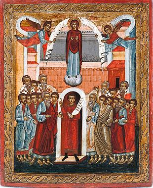 Ікона Покрова Пресвятої Богородиці, Дубровиця