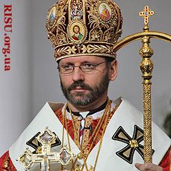Seine Seligkeit Sviatoslav Shevchuk Großerzbischof von Kiew und Galizien