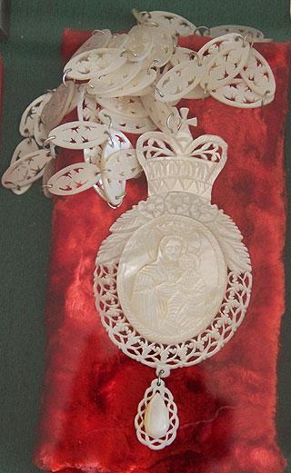 Перламутрова панагія - подарунок від Блаженнішого Митрополита Володимира