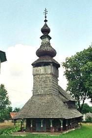 Закарпаття: Михайлівська церква у Бистрому
