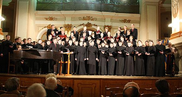 Виступ хору Львівської духовної семінарії