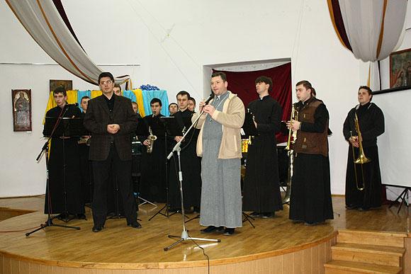 Виступ духового оркестру ЛДС