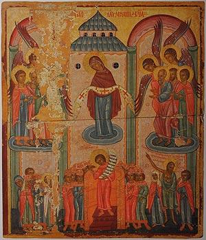 ікона з Церкви Покрову Богородиці у Рихвалді