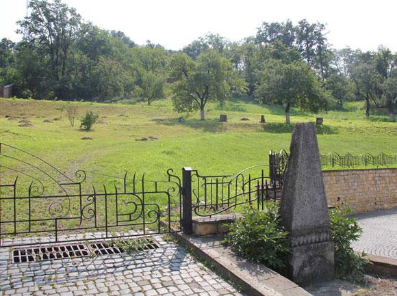Сучасний вигляд на колишній монастирський цвинтар