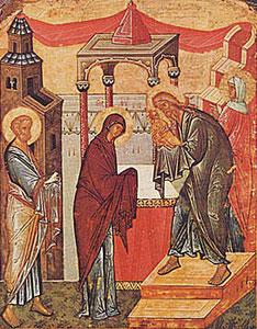 15 лютого Стрітення Господнє за Юліанським календарем