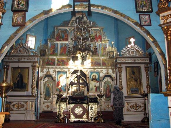 храм Святого Миколая у Вінниці, інтер'єр