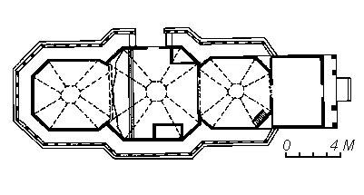 храм Святого Миколая у Вінниці, у розрізі