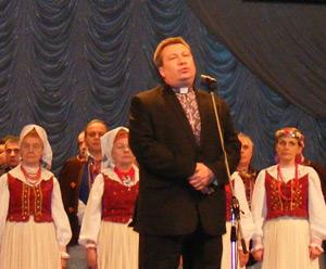 о. І.Ковальчук на вечері пам'яті о. Блажейовського