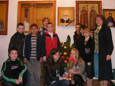 Діти в музеї о. Блажейовського