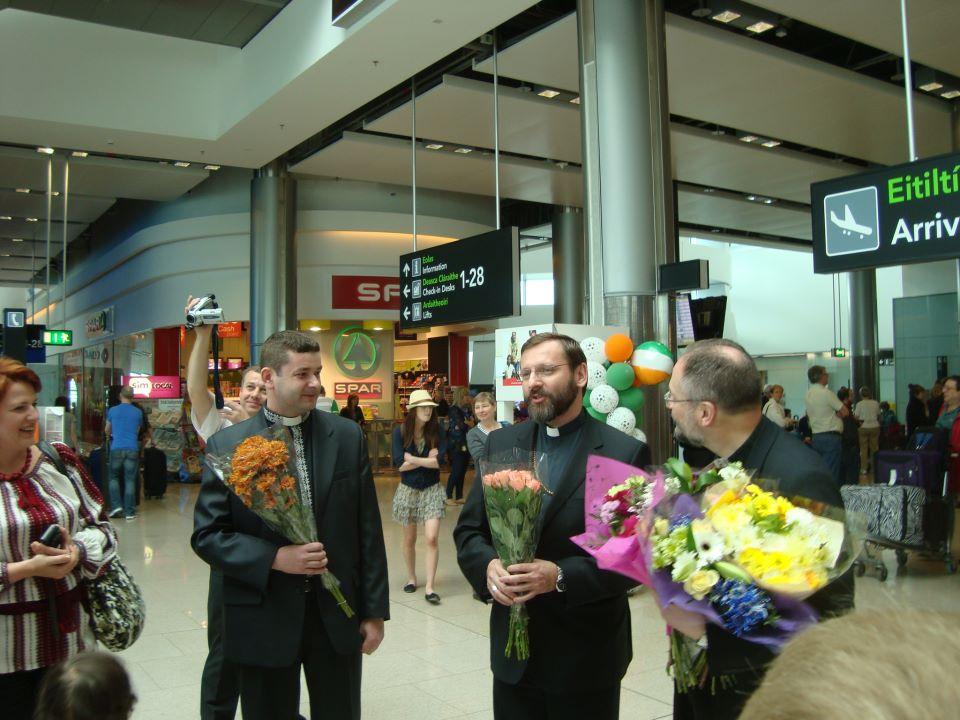 Розпочався візит Глави УГКЦ до Ірландії