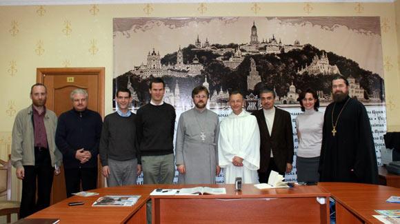 Гості з Тезе також завітали на семінар православних ЗМІ