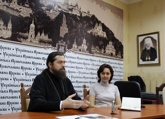 презентація православних ЗМІ для учасників зустрічі Тезе