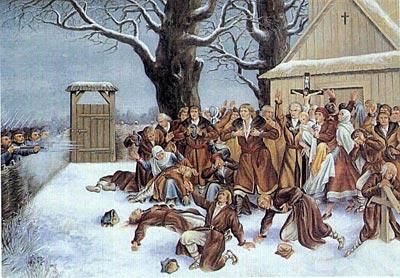 23 січня (10 січня) – День пам'яті про Пратулинських мучеників