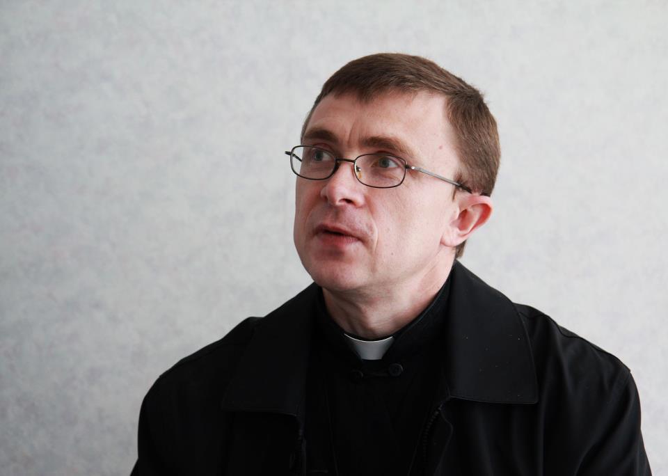 о. Андрій Бухвак, капелан для довічноув'язнених