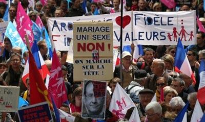 Антисодомітські протести у Парижі