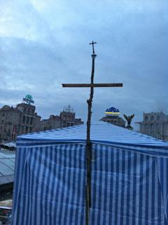 Відновлена каплиця на Майдані