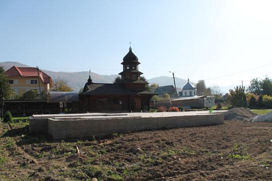 Фундаменти під нову церкву