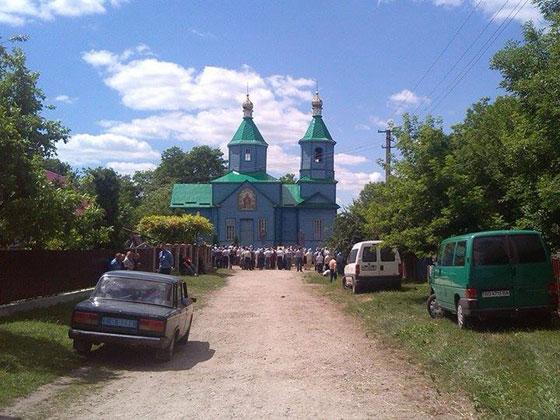 Храм в с. Катеринівка