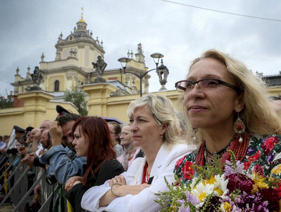 Відкриття пам'ятника Митрополиту Андрею у Львові
