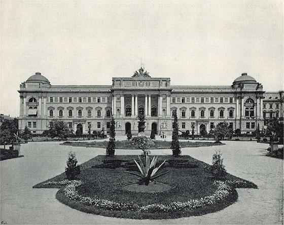 Приміщення Галицького крайового сейму, нині ЛНУ ім. І.Франка