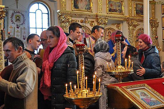 Чин моління за святі ікони