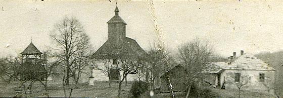 Боронявський монастир отців василіян у 1947 році