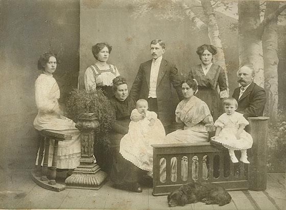 Німецька родина