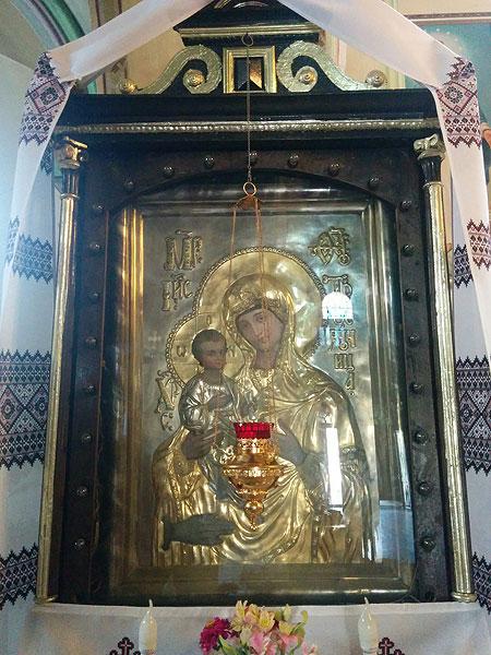 ікона Яблоницької Матері Божої «Троєручиця»