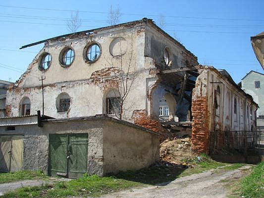 Все, що залишилося від бережанської Великої синагоги