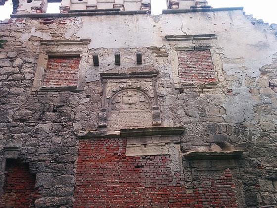 Бережанський замок, залишки стін
