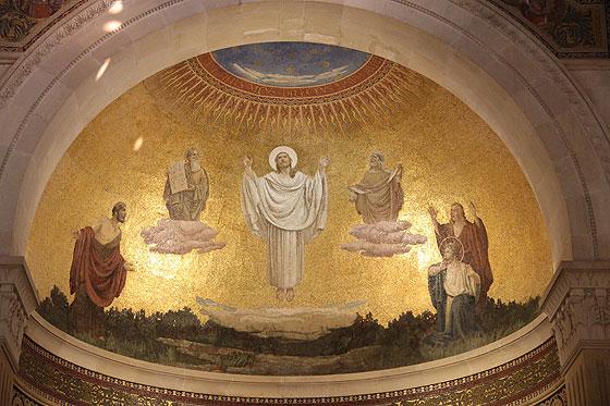 Мозаїка з храму Преображення на горі Тавор