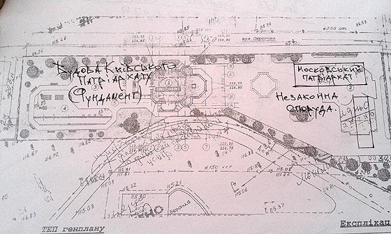 Схема земельної ділянки