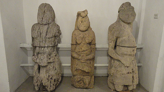 Половецькі скульптури