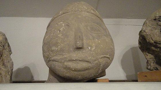 Обличчя однієї з половецьких скульптур