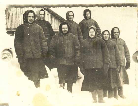 Сестри служебниці на Сибірі, 1951 р.