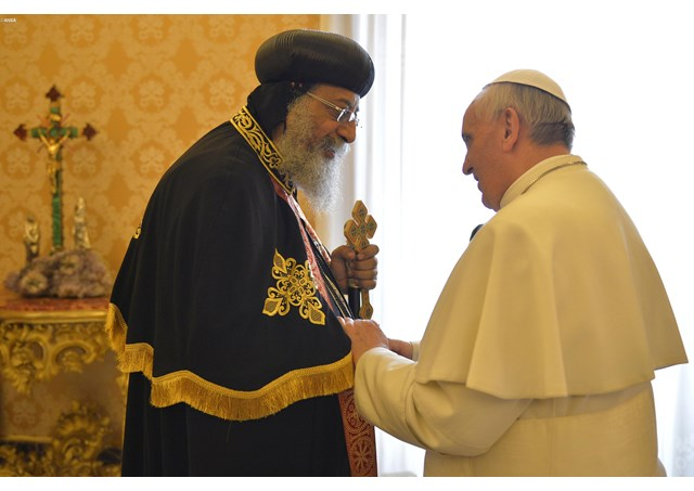 ДОКУМЕНТ: Совместная декларация Папы Римского Франциска и Коптского Патриарха Александрийского Тавадроса II о взаимопризнании крещения