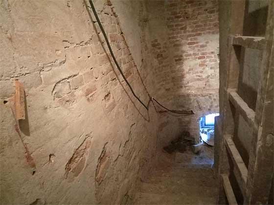 Вхід до підвалів