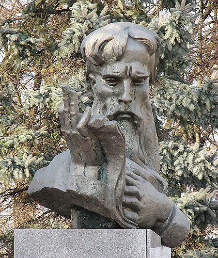 Пам'ятник Івану Вишенвському в Судовій Вишні