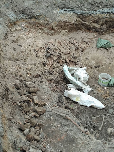 Археологічні розкопки на території монастиря