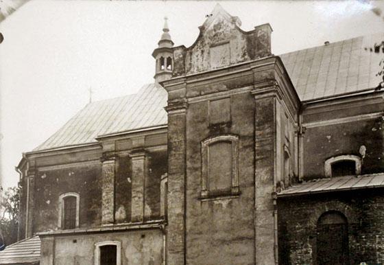 Костел Св. Станіслава, знищений 1936 р.