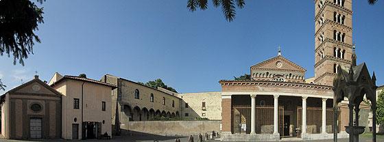 Василіянський монастир у Гроттаферрата, де по прибутті в Італі 9 лютого 1963 року зупинився Йосиф Сліпий