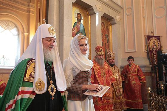 У патр. Кирила з Яровою дуже теплі стосунки