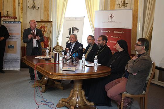 у Львові презентували книжку до 125-ліття Йосифа Сліпого