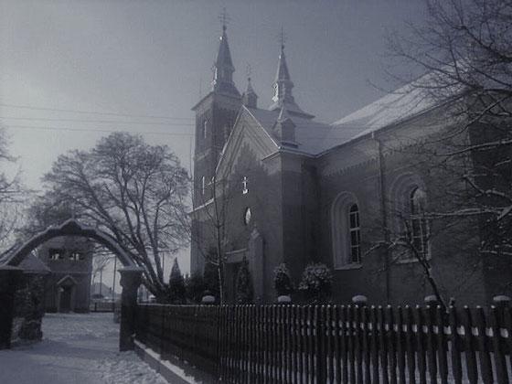Церква у с. Заріччя, де служив о. В. Балтович