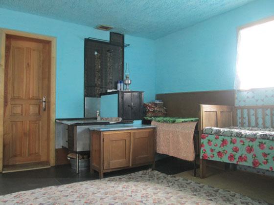 Кухня і піч у будинку «віруючих» або ж «кашкетників» в селі Космирин