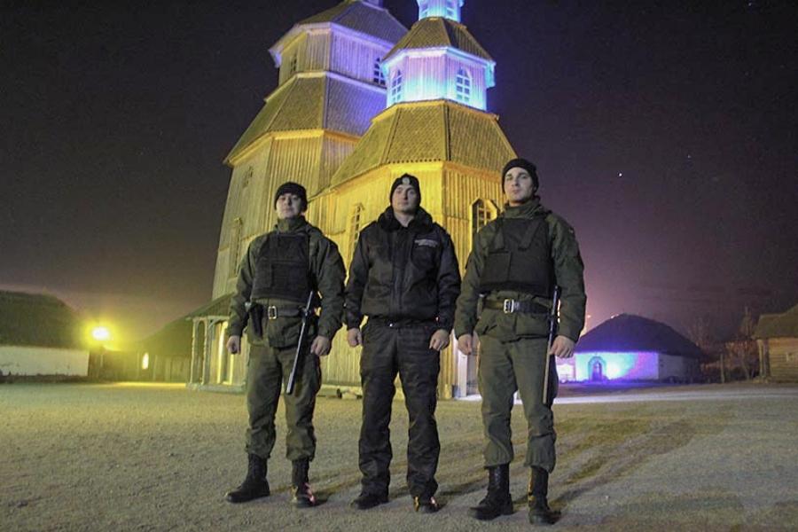 Нацгвардія взяла під охорону комплекс «Запорізька Січ»