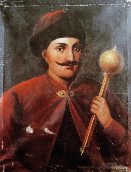 Іван Виговський. Портрет невідомого художника XVII століття.