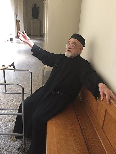 Отець Партеній, 2016 р.